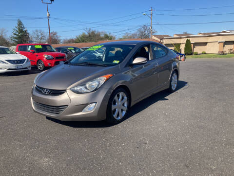 2013 Hyundai Elantra for sale at Majestic Automotive Group in Cinnaminson NJ