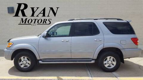 2001 Toyota Sequoia for sale at Ryan Motors LLC in Warsaw IN