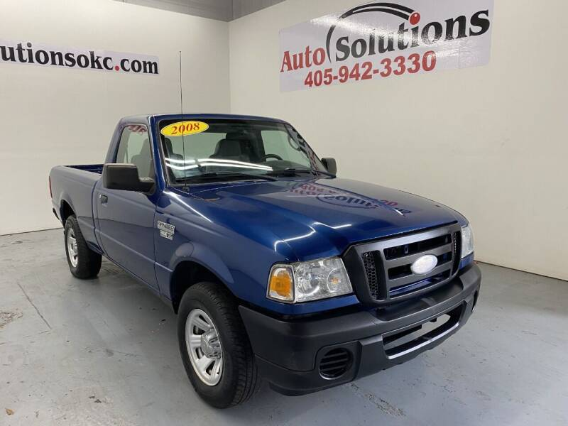 2008 Ford Ranger for sale at Auto Solutions in Warr Acres OK