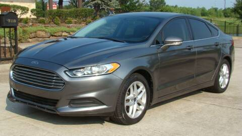 2014 Ford Fusion for sale at Red Rock Auto LLC in Oklahoma City OK