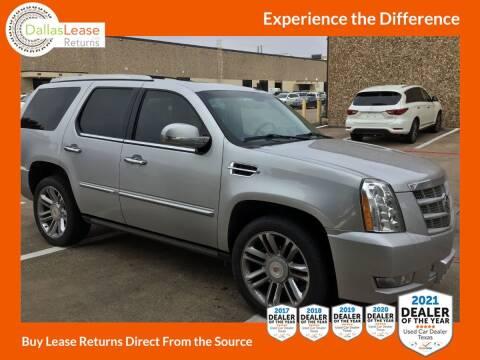 2014 Cadillac Escalade for sale at Dallas Auto Finance in Dallas TX