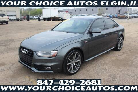2015 Audi S4 for sale at Your Choice Autos - Elgin in Elgin IL