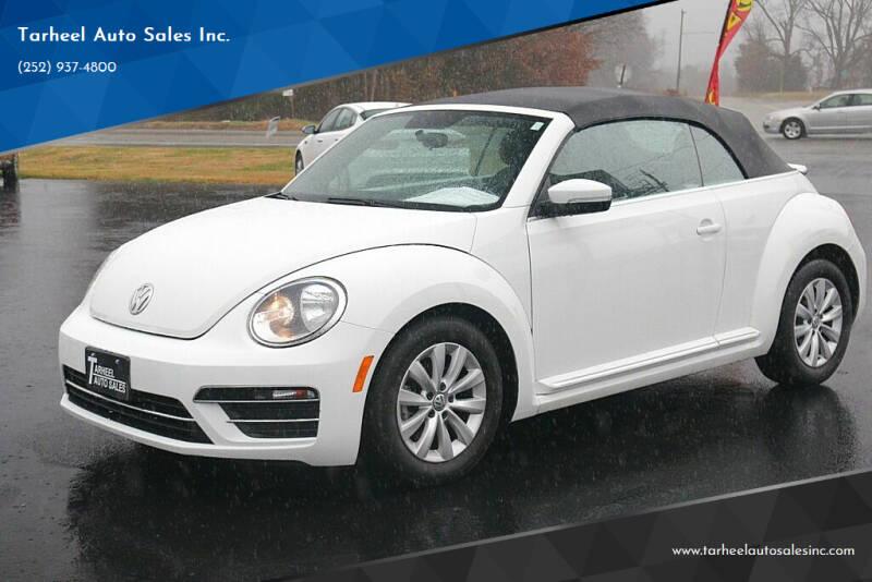 2018 Volkswagen Beetle Convertible for sale at Tarheel Auto Sales Inc. in Rocky Mount NC