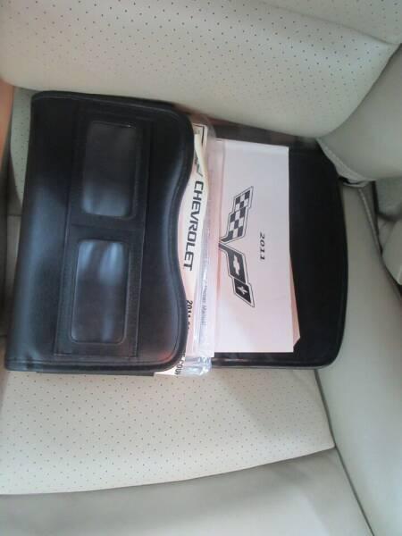 2011 Chevrolet Corvette 2dr Coupe w/2LT - Ardmore TN