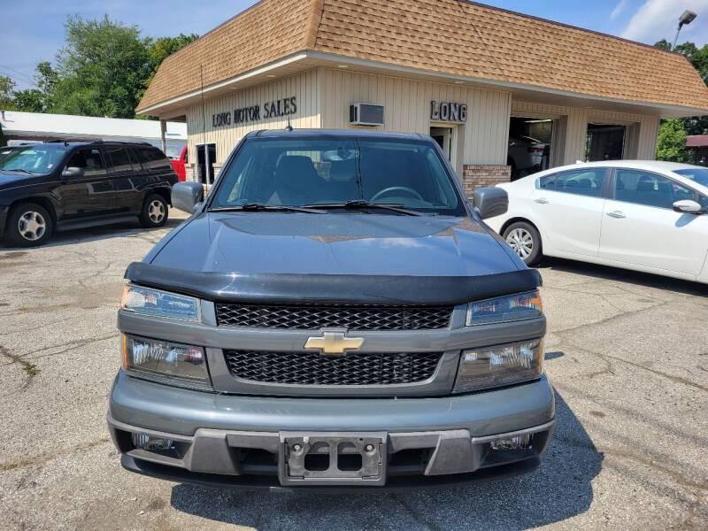 2012 Chevrolet Colorado for sale at Long Motor Sales in Tecumseh MI