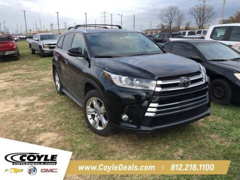 2018 Toyota Highlander for sale at COYLE GM - COYLE NISSAN - New Inventory in Clarksville IN