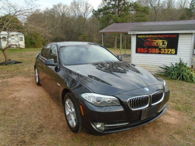 2013 BMW 5 Series for sale at Hot Deals Auto LLC in Rock Hill SC