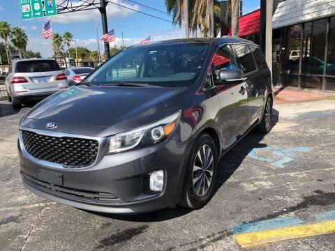 2015 Kia Sedona for sale at Gtr Motors in Fort Lauderdale FL