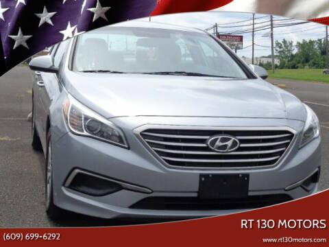 2016 Hyundai Sonata for sale at RT 130 Motors in Burlington NJ