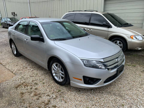 2011 Ford Fusion for sale at CHEAPIE AUTO SALES INC in Metairie LA