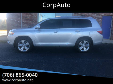 2009 Toyota Highlander for sale at CorpAuto in Cleveland GA