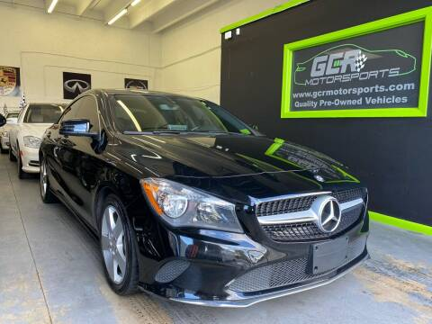 2017 Mercedes-Benz CLA for sale at GCR MOTORSPORTS in Hollywood FL