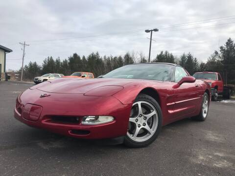 2000 Chevrolet Corvette for sale at Lakes Area Auto Solutions in Baxter MN