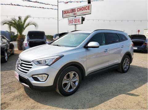 2015 Hyundai Santa Fe for sale at Dealers Choice Inc in Farmersville CA