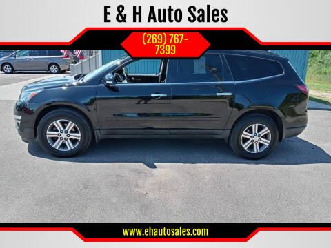 2016 Chevrolet Traverse for sale at E & H Auto Sales in South Haven MI