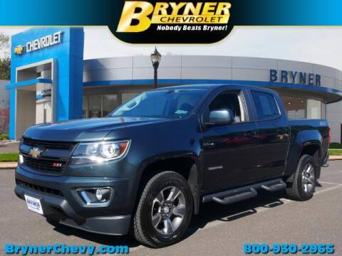 2017 Chevrolet Colorado for sale at BRYNER CHEVROLET in Jenkintown PA