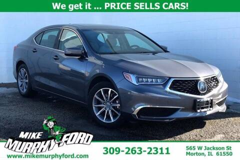 2018 Acura TLX for sale at Mike Murphy Ford in Morton IL