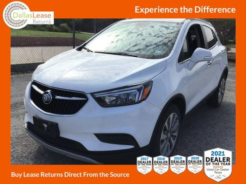 2018 Buick Encore for sale at Dallas Auto Finance in Dallas TX