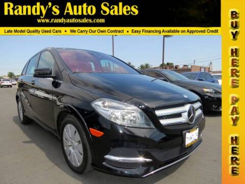 2017 Mercedes-Benz B-Class for sale at Randy's Auto Sales in Ontario CA