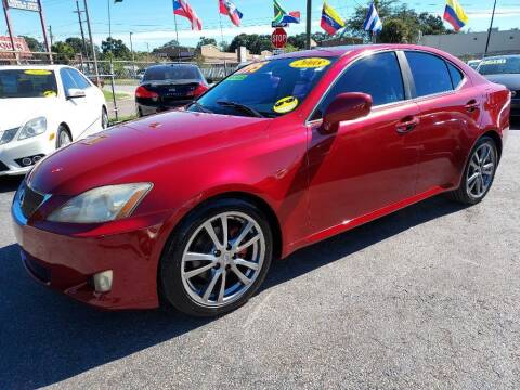 2008 Lexus IS 250 for sale at AUTO IMAGE PLUS in Tampa FL