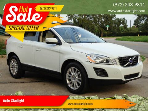 2010 Volvo XC60 for sale at Auto Starlight in Dallas TX