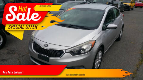 2014 Kia Forte for sale at Ace Auto Brokers in Charlotte NC