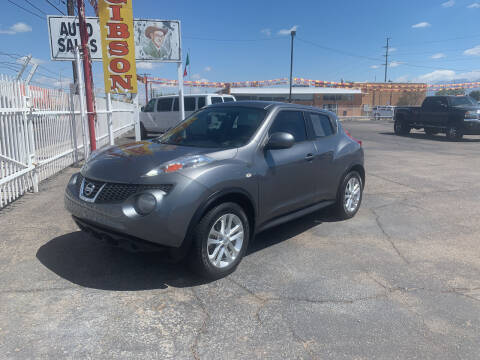 2014 Nissan JUKE for sale at Robert B Gibson Auto Sales INC in Albuquerque NM