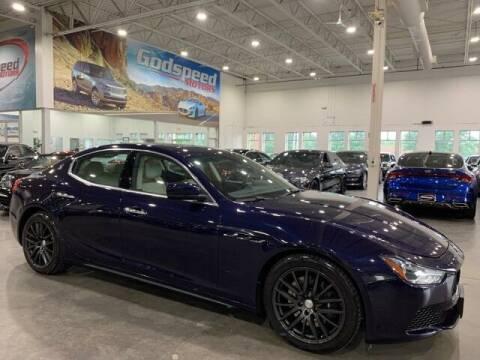2015 Maserati Ghibli for sale at Godspeed Motors in Charlotte NC