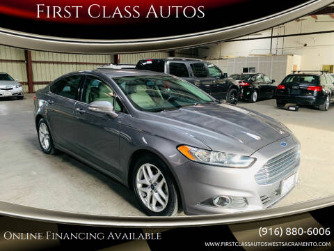 2014 Ford Fusion for sale at Car Source Center in West Sacramento CA