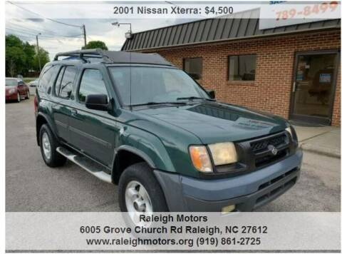 2001 Nissan Xterra for sale at Raleigh Motors in Raleigh NC