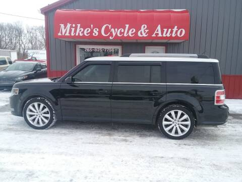 2013 Ford Flex for sale at MIKE'S CYCLE & AUTO in Connersville IN