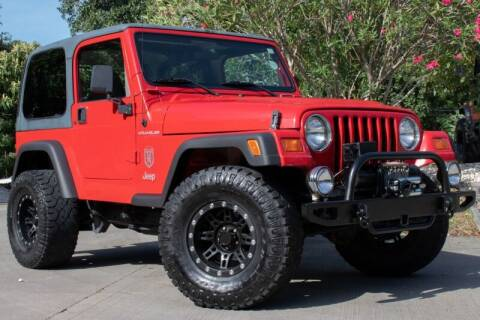 1997 Jeep Wrangler for sale at SELECT JEEPS INC in League City TX