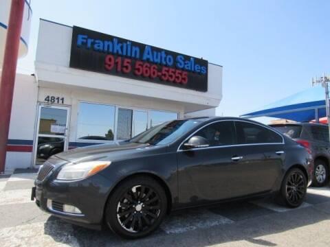 2012 Buick Regal for sale at Franklin Auto Sales in El Paso TX