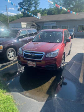 2017 Subaru Forester for sale at P & M AUTO in Springfield VT