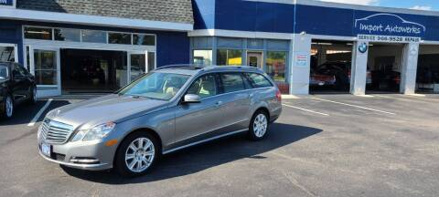 2012 Mercedes-Benz E-Class for sale at Import Autowerks in Portsmouth VA