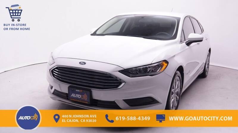 2017 Ford Fusion Hybrid for sale in El Cajon, CA