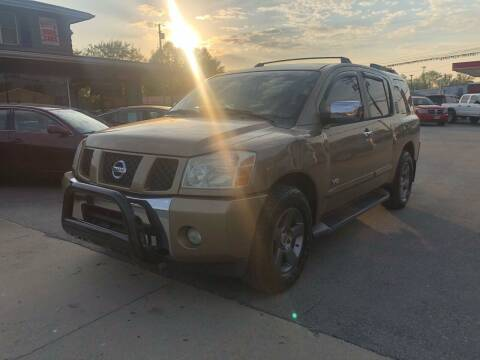2005 Nissan Armada for sale at Wise Investments Auto Sales in Sellersburg IN