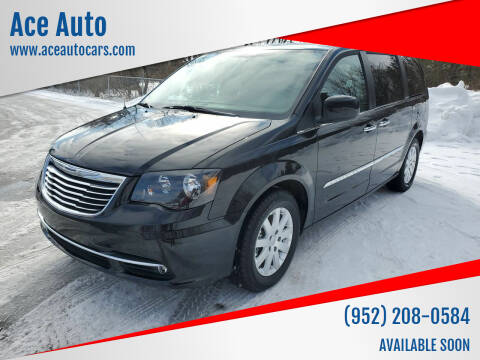 2016 Chrysler Town and Country for sale at Ace Auto in Jordan MN