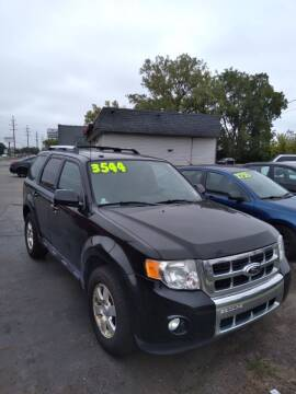 2012 Ford Escape for sale at D and D All American Financing in Warren MI