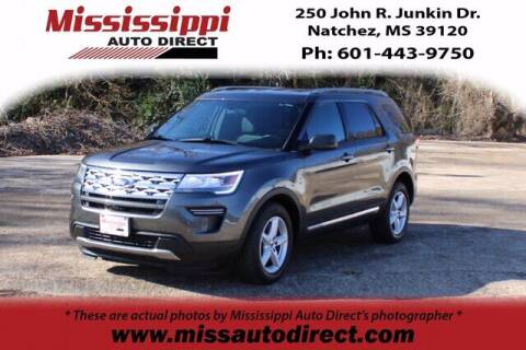 2018 Ford Explorer for sale at Auto Group South - Mississippi Auto Direct in Natchez MS