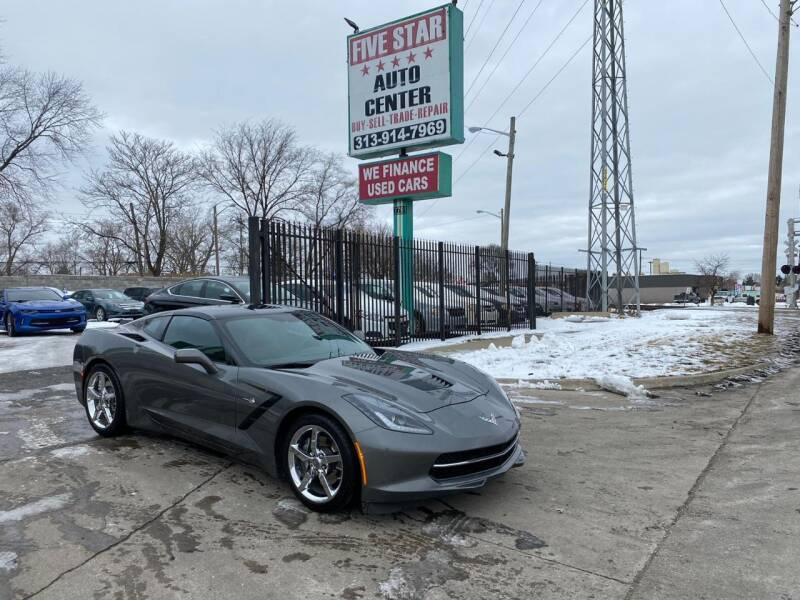 2015 Chevrolet Corvette for sale at Five Star Auto Center in Detroit MI