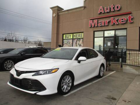 2018 Toyota Camry for sale at Auto Market in Oklahoma City OK