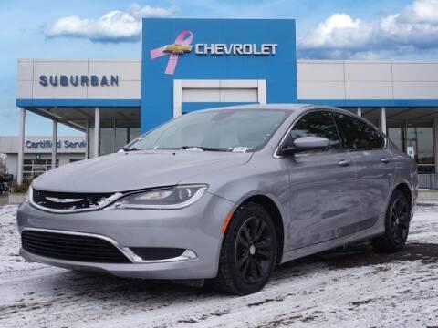 2016 Chrysler 200 for sale at Suburban Chevrolet of Ann Arbor in Ann Arbor MI