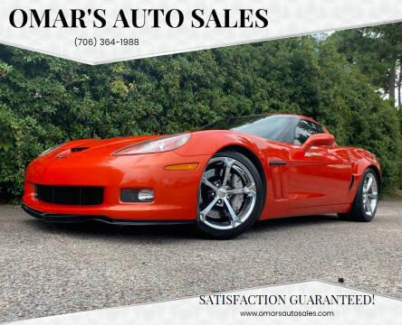 2012 Chevrolet Corvette for sale at Omar's Auto Sales in Martinez GA
