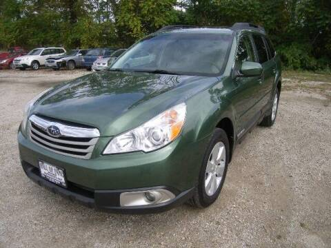 2012 Subaru Outback for sale at HALL OF FAME MOTORS in Rittman OH