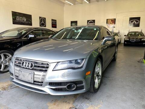 2013 Audi S7 for sale at GCR MOTORSPORTS in Hollywood FL