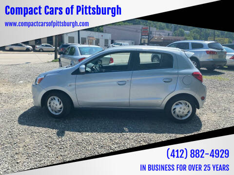 2014 Mitsubishi Mirage for sale at Compact Cars of Pittsburgh in Pittsburgh PA