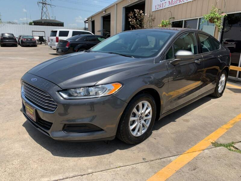 2016 Ford Fusion for sale at Market Street Auto Sales INC in Houston TX