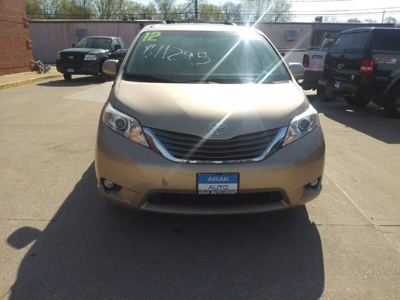 2012 Toyota Sienna for sale at Arak Auto Group in Bourbonnais IL