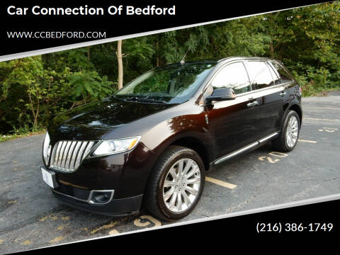 2013 Lincoln MKX for sale at Car Connection of Bedford in Bedford OH
